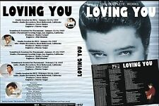 Elvis - The Complete LOVING YOU Session - 4 CD