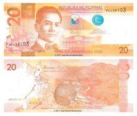 Philippines 20 Piso 2013 P-206 Banknotes UNC