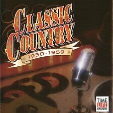 Time Life - Classic Country: 1950-59 - 2 Disc CD ** Brand New! **