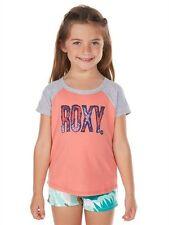 Roxy Slopeside BS Peach Girls T-shirts Size Medium