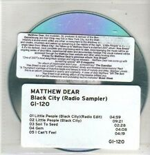 (CO28) Matthew Dear, Black City - 2010 DJ CD