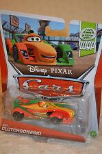 "Disney Pixar CARS WORLD GRAND PRIX  (WGP) "" RIP CLUTCHGONESKI ""  NIP"