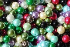 100pcs 8 Mm Surtidos De Cristal redondo perlas de