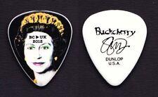 Buckcherry Stevie D Signature Queen Elizabeth Guitar Pick - 2012 UK Tour