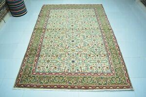Antique Rug 4.9x7.2,Turkish Rug,Anatolian Rug,Wool Rug,Old Rug,Floor Mat,Carpet.