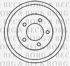 BBR7117 BORG & BECK REAR BRAKE DRUM fits Ford Transit Connect 02- NEW O.E SPEC!