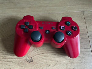 Dualshock 3 Wireless Controller - Playstation 3 (PS3) - Red