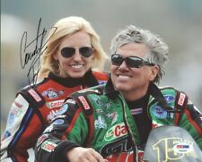 Courtney Force NHRA Drag Racing Signed Authentic 8X10 Photo PSA/DNA #Y96482
