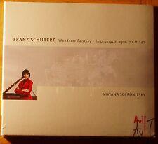 Viviana SOFRONITSKY : Franz SCHUBERT Wanderer Fantasy Impromptus opp. 90 &