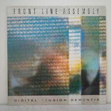 "Front Line Assembly – Digital Tension Dementia -Vinyl, 12"", 45 RPM, Single 1988"