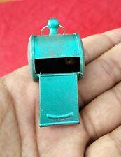 1940s Vintage Vert Couleur Boite Sifflet Jouet Japon Sifflante Agréable