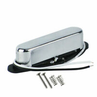 New Alnico 5 Tele Guitar Neck Pickup Single Coil Pickup Closed Chrome Cover