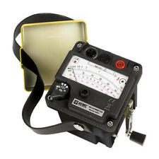 Aemc 6501 212651 Hand Cranked Megohmmeter 500v Max Test Voltage