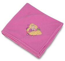 Disney Tangled Rapunzel Soft Pink Fleece Throw Blanket