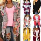 Women Cardigan Sweater Long Sleeve Knitted Loose Casual Outwear Jacket Coat S-XL