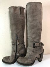 AIRSTEP AIR STEP KNEE HIGH BOOTS HEEELED BOOTS 36 BUCKLE