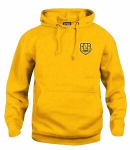 Cambridge United 1969-1971 Retro Football Hoodie Embroidered Crest S-XXXL