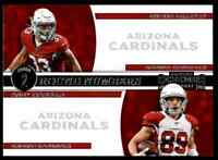 2019 PANINI CONTENDERS ROUND NUMBERS BYRON MURPHY ANDY ISABELLA RC ARIZONA