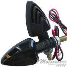 LED BLINKER SCHWARZ GETÖNT APRILIA RSV 1000 RSV4 RS 125 250 PEGASO 650 SR 50 AF1