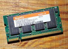 Mémoire SO-DIMM 256Mo DDR-333 PC2700 Hynix (256GB PC2700S)