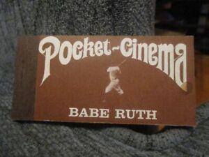 1969 Babe Ruth Cinema Movie Flip Book