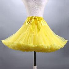 Pettiskirt TUTU Skirt Petticoat Cosplay Crinoline Fluffy Dance Skirt hot Costume