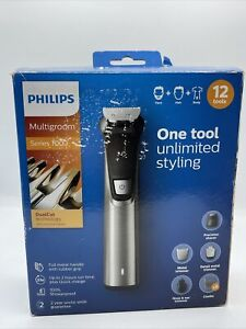 Y141 Philips Series 7000 Multigroom Face/Hair/Body 11 Piece Grooming Kit
