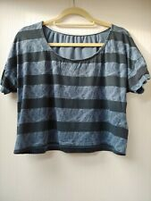 Paisley Striped Crop Top From Crafted Size 10