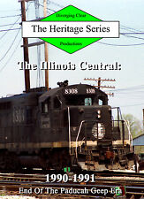 Railroad DVD: Illinois Central in 1990-1991, including the Edgewood Cutoff