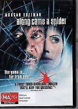 ALONG CAME A SPIDER DVD MORGAN FREEMAN MA15+ R4
