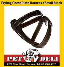 EzyDog Chest Plate Dog Car Harness XSmall Black - Free Fastway Courier