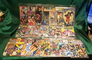 DC & Marvel 47 Comics Lot Superman, Scarlet Witch, Batman, Dark Claw, Superboy