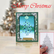 Christmas Tree Metal DIY Cutting Dies Stencils Scrapbooking Photo Album Craft