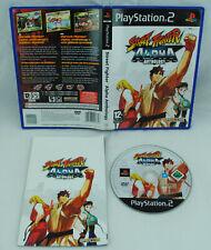 Jeu STREET FIGHTER ALPHA ANTHOLOGY sur Playstation 2 PS2 CD REMIS A NEUF PAL