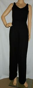 """""""ZARA"""" - Excellent PreOwned - Size S - """"Black"""" Sleeveless KeyHole Back JUMPSUIT"""