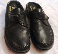Ladies Dexter Comfort Black Leather Clogs-8 (5711)