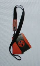 Authentic Coach MBJ X Naruto Multi Card Case Id Lanyard In Signature Canvas