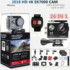 Akaso EK7000 Action Camera Camcorder WiFi 4K Ultra HD 12MP Waterproof Sports DV