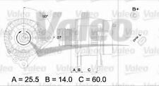 Alternateur VALEO 437395 NEUF  SEAT LEON 1M1 2.8 Cupra 4 204ch