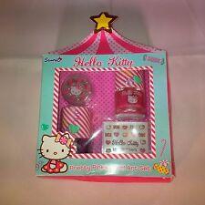 "Hello Kitty ""Pretty Pinkies"" Nail Art Set - Nail Polish, Nail Stickers & Glitter"