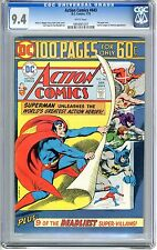 Action Comics #443  CGC 9.4  NM   white pages