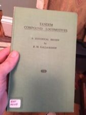 Tandem Compound Locomotives hb book 1949 Kalla Bishop Box A