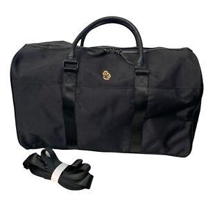 Luke 1977 Weekender 24 Bag Black Nylon Leather Handles