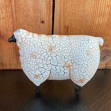 Primitive Sheep / Ewe Folk Art Figure Home Decor