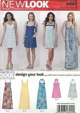 New Look 6902 Juniors' Dresses 3/4 to 13/14     Sewing Pattern