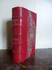 OEUVRES DE V.HUGO LES CHATIMENTS 1875 LEMERRE/FRONT.EX-LIBRIS-TRANCHE TETE OR***
