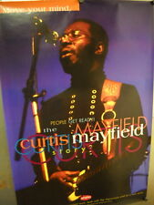 Curtis Mayfield Large Promo Poster Move Your Mind mint condition