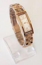 DKNY señora reloj Pelham Rosé oro acero inoxidable rectángulo ny2429 nuevo embalaje original