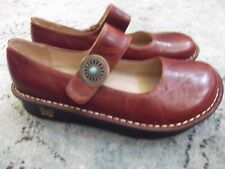 Alegria PAL-612 Womens EU 39 / 9 Paloma brown Leather Mary Jane Shoes