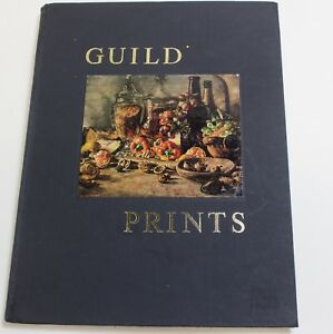 Guild Prints 1st Edition Soloman and Whitehead, London 1970 Hardcover